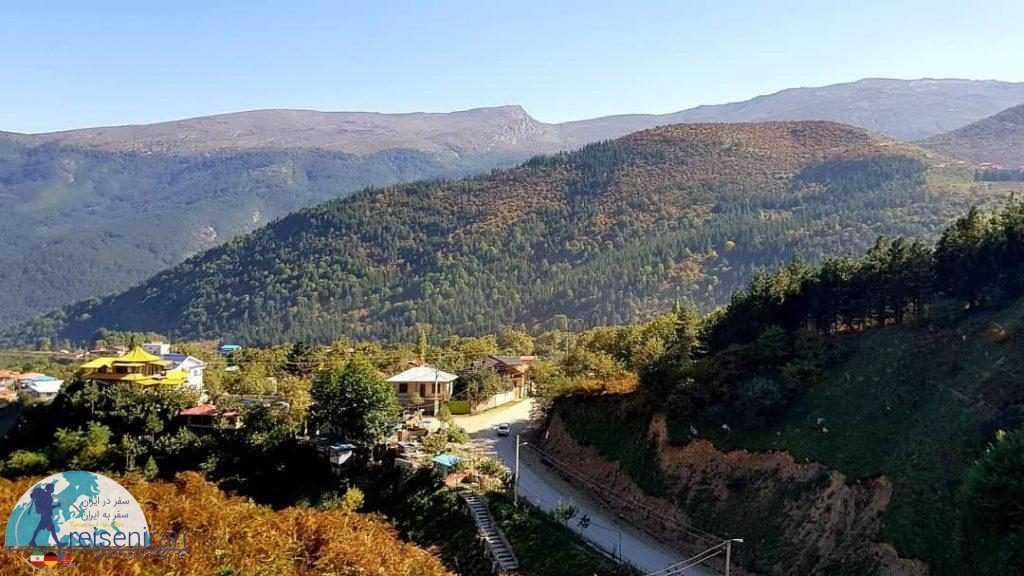 در مسیر روستای جواهرده رامسر