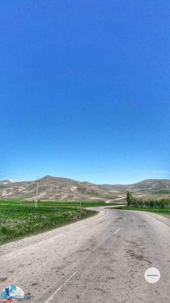 در مسیر روستا شیلاندر