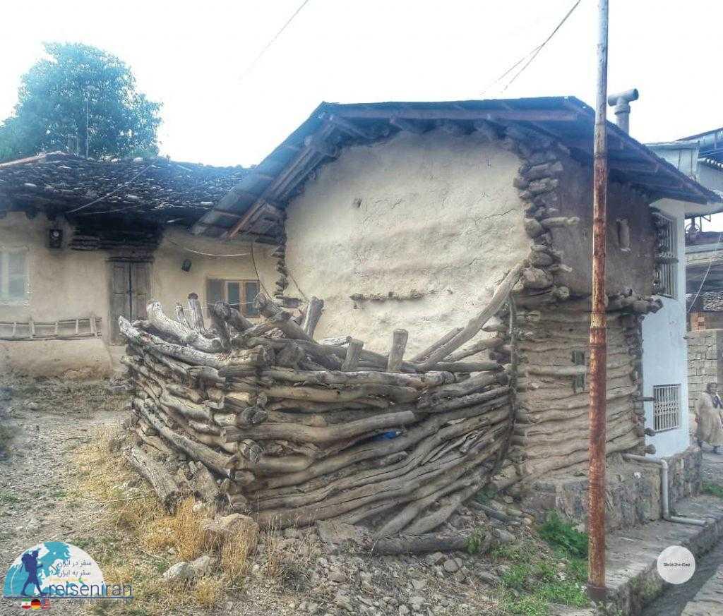 ساخت سنتی خانه در روستای کندلوس