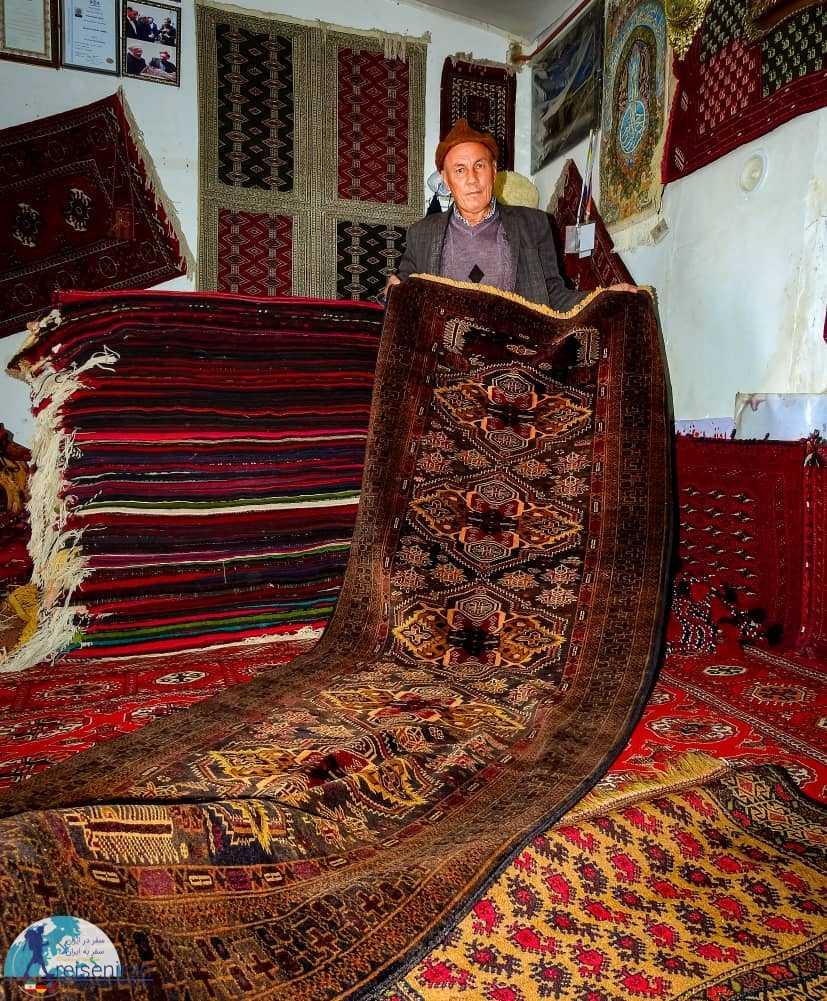 صنایع دستی قوم ترکمن