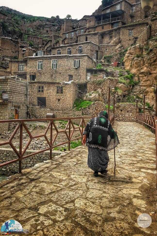 مردمان روستای پالنگان