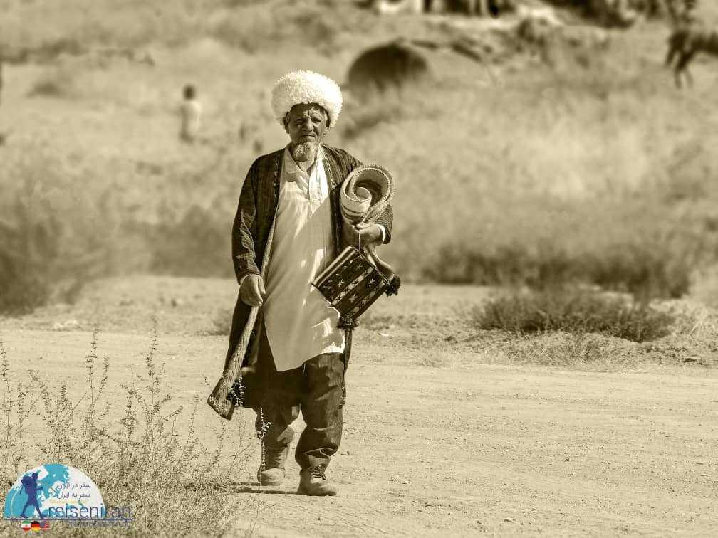 مرد قوم ترکمن