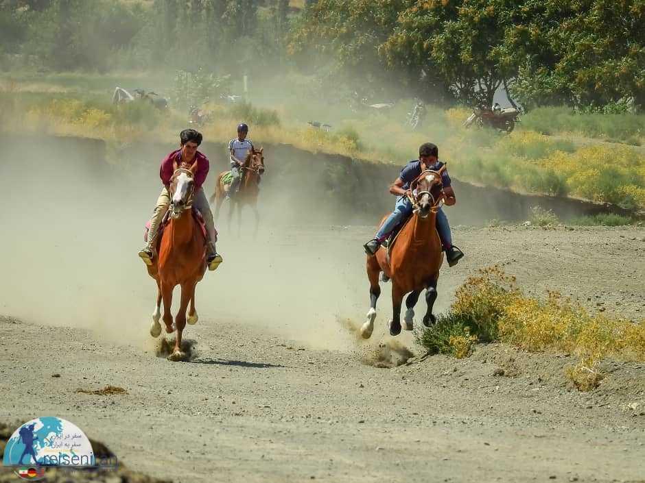 مسابقات اسب سواری ترکمن ها
