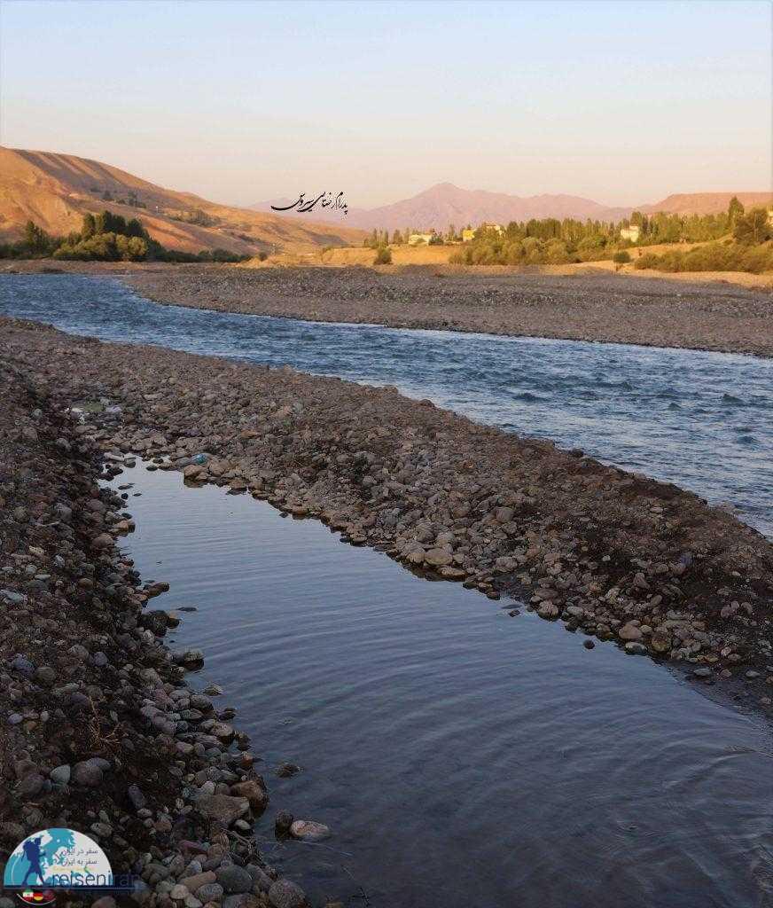 مسیر رودخانه شاهرود