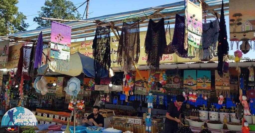 مغازه های کنار جاده جواهرده