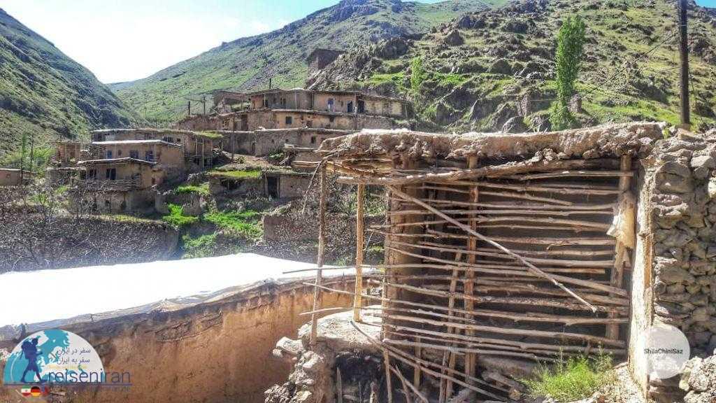 نمایی از روستا شیلاندر زنجان