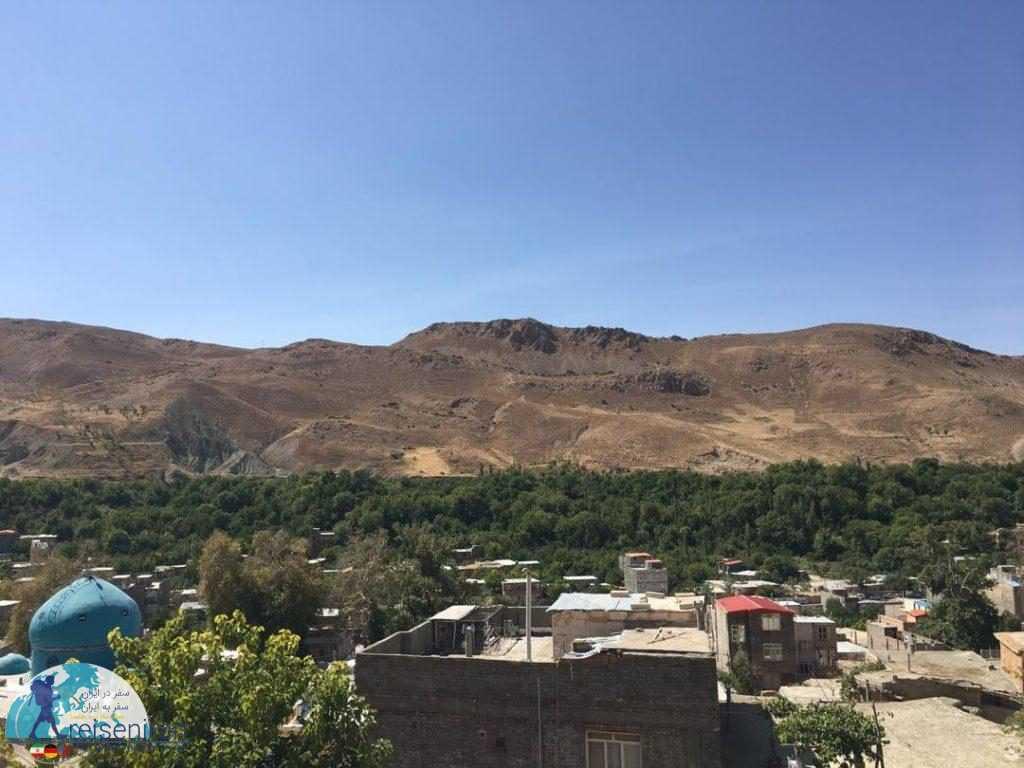 نمای طبیعی روستای روئین