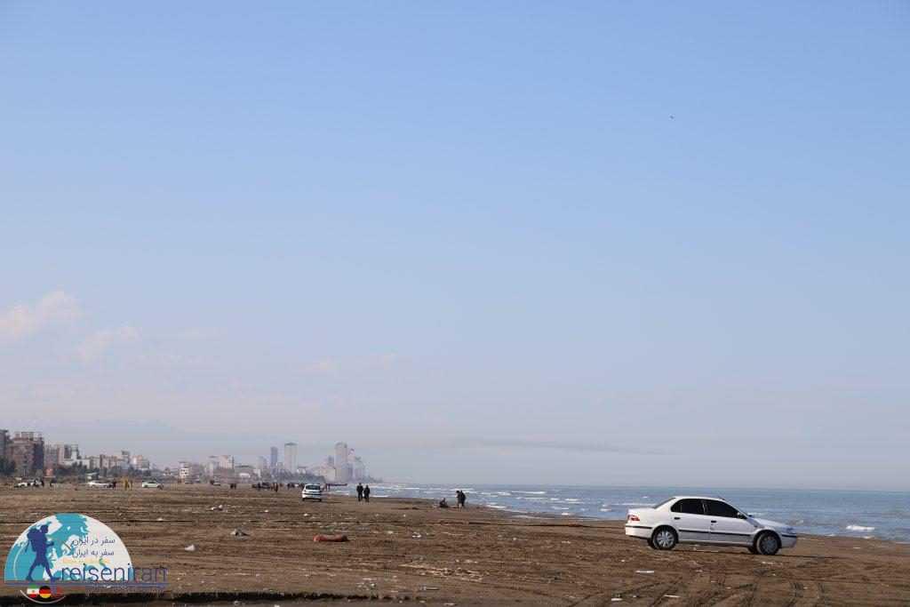 ساحل بدون مدیریت شده خزر