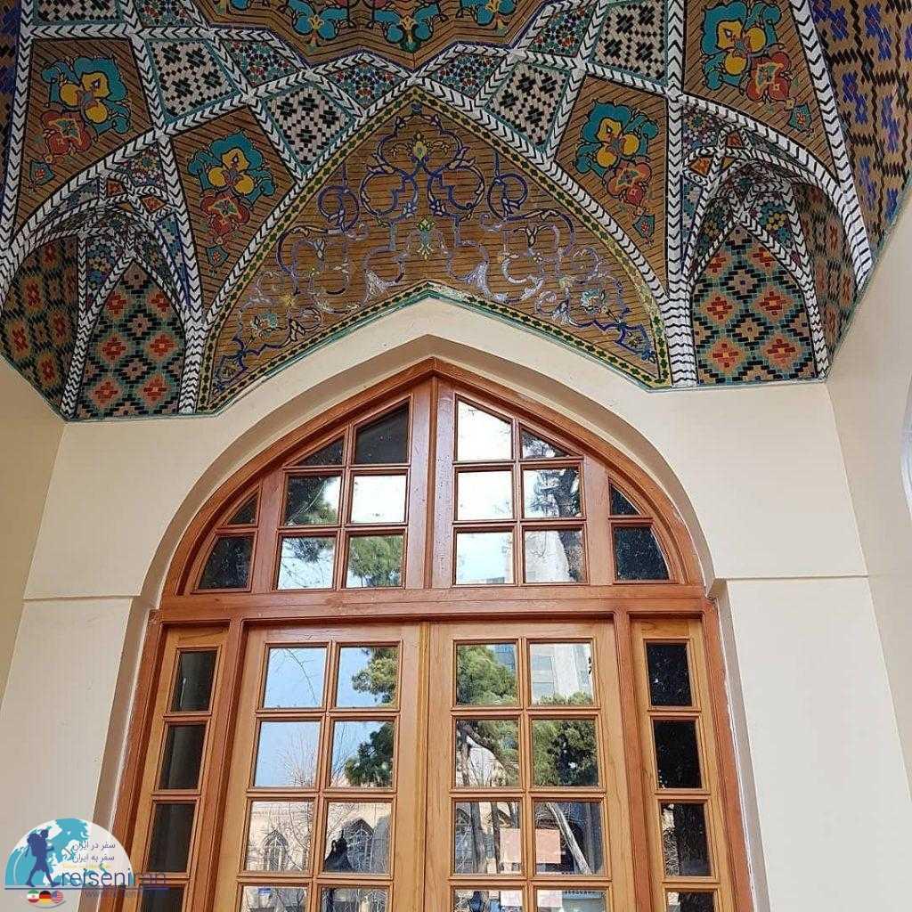 تزئینات دارالفنون تهران
