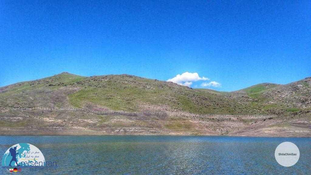 دریاچه سد تهم