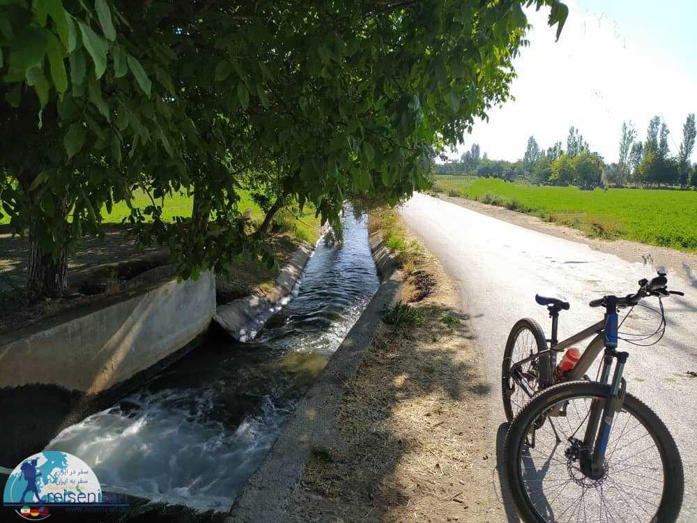 دوچرخه سورای در شهر گلپایگان