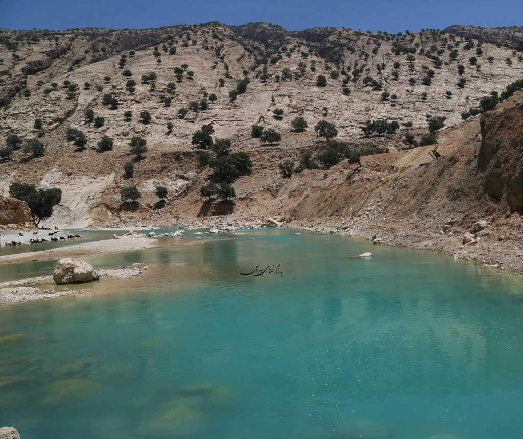 رودخانه در جریان منطقه زاگرس