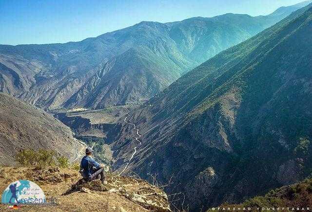 طبیعت رشته کوه البرز در بهار