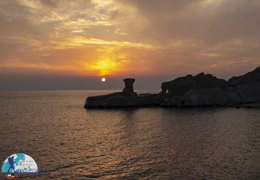 غروب خلیج فارس