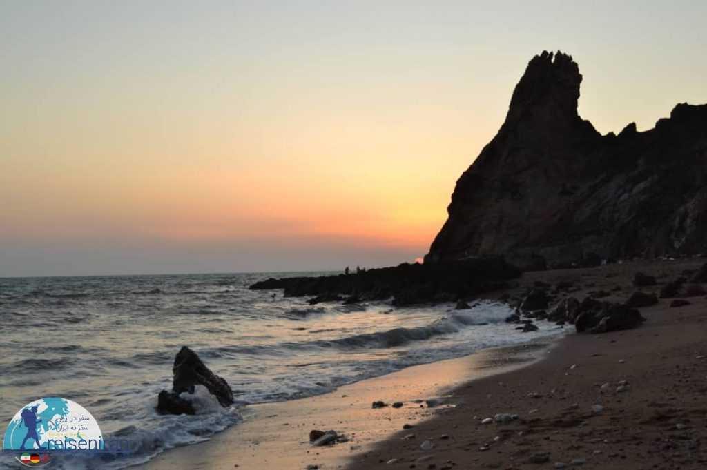 غروب ساحل سرخ