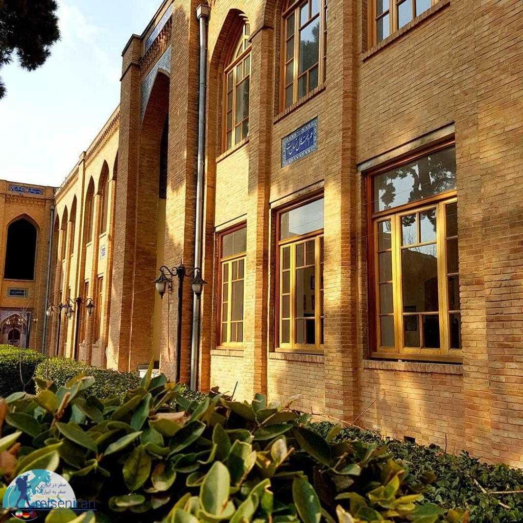 معماری مدرسه دارالفنون