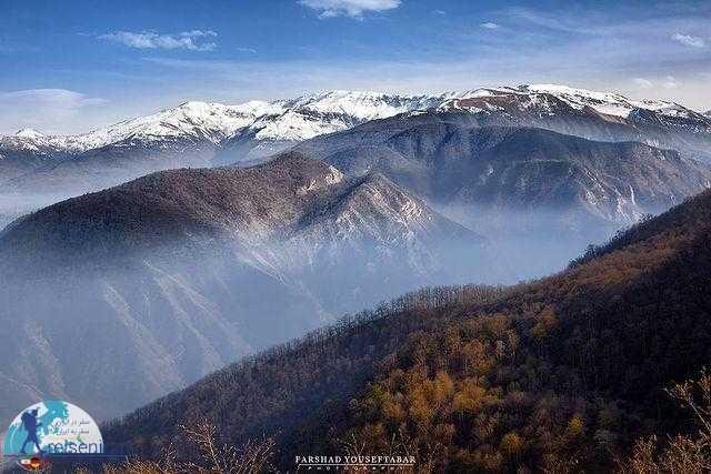 کوه های رشته کوه البرز