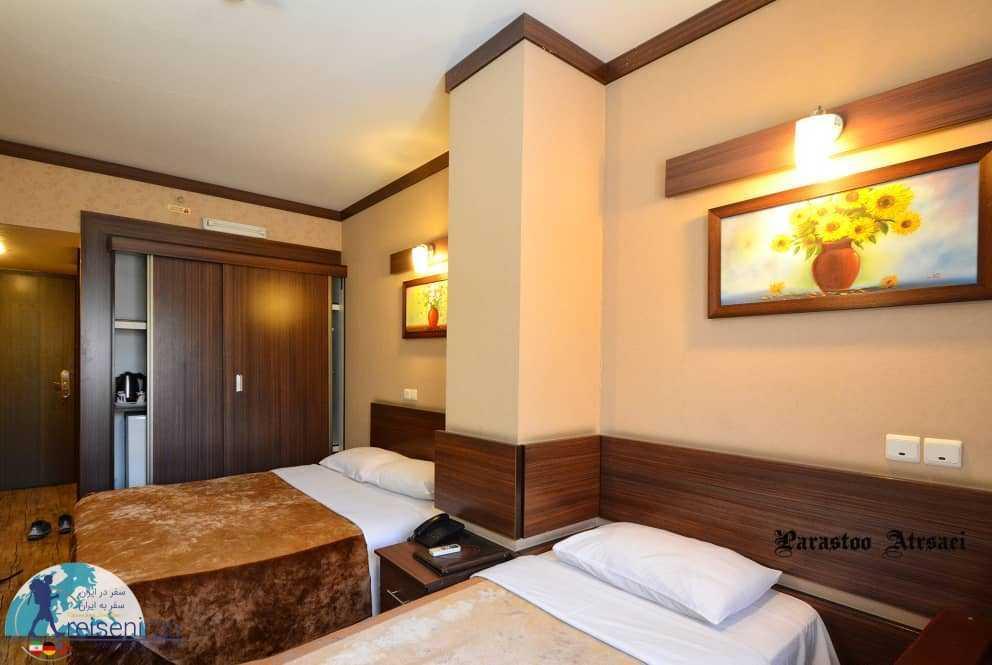 اتاق هتل شیخ بهایی اصفهان