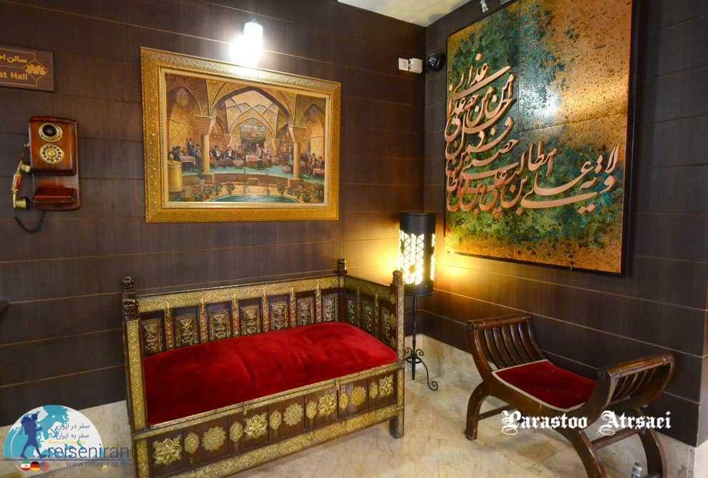 فضای عمومی هتل شیخ بهایی