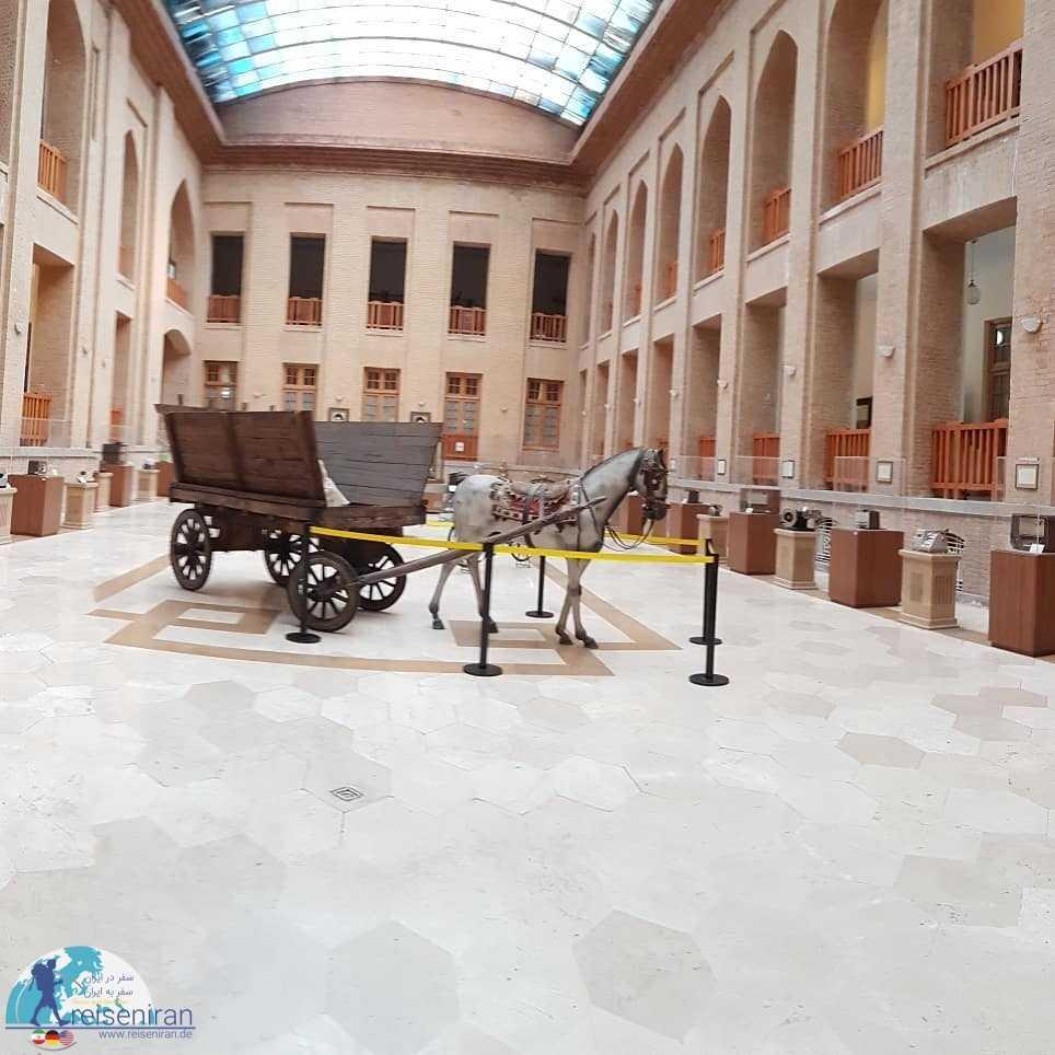 فضای موزه پست