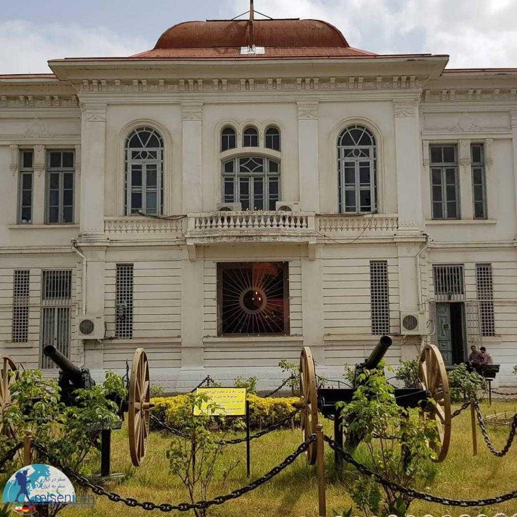 کاخ موزه میان پشته، کاخ رضا شاه در انزلی