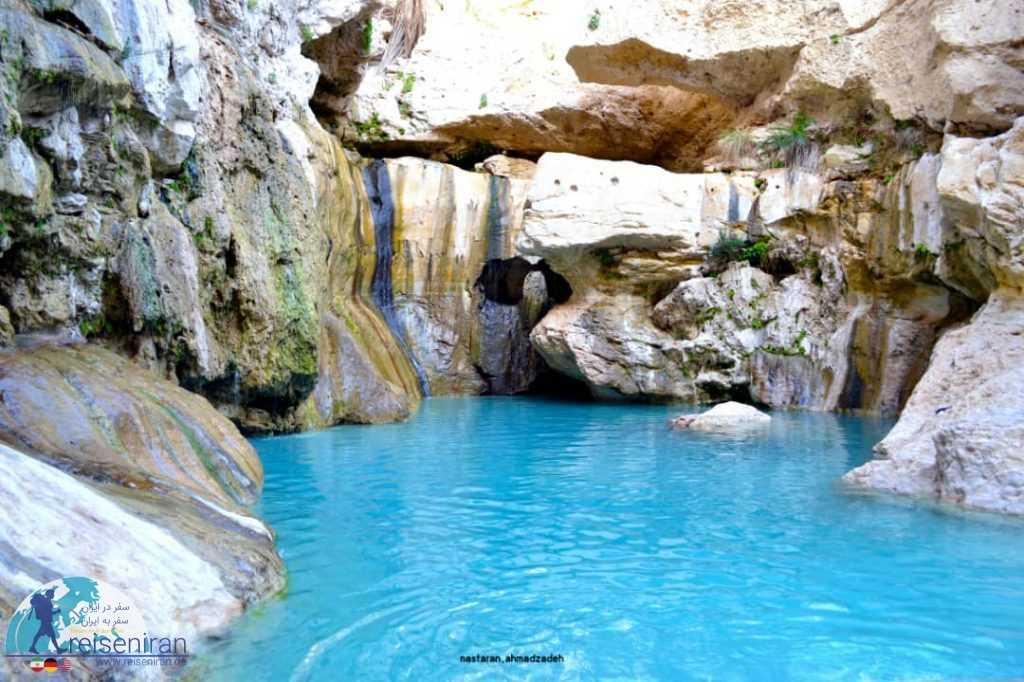 آبشار و چشمه اودبه پارسیان