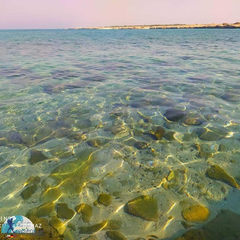 عکس ساحل جزیره لاوان