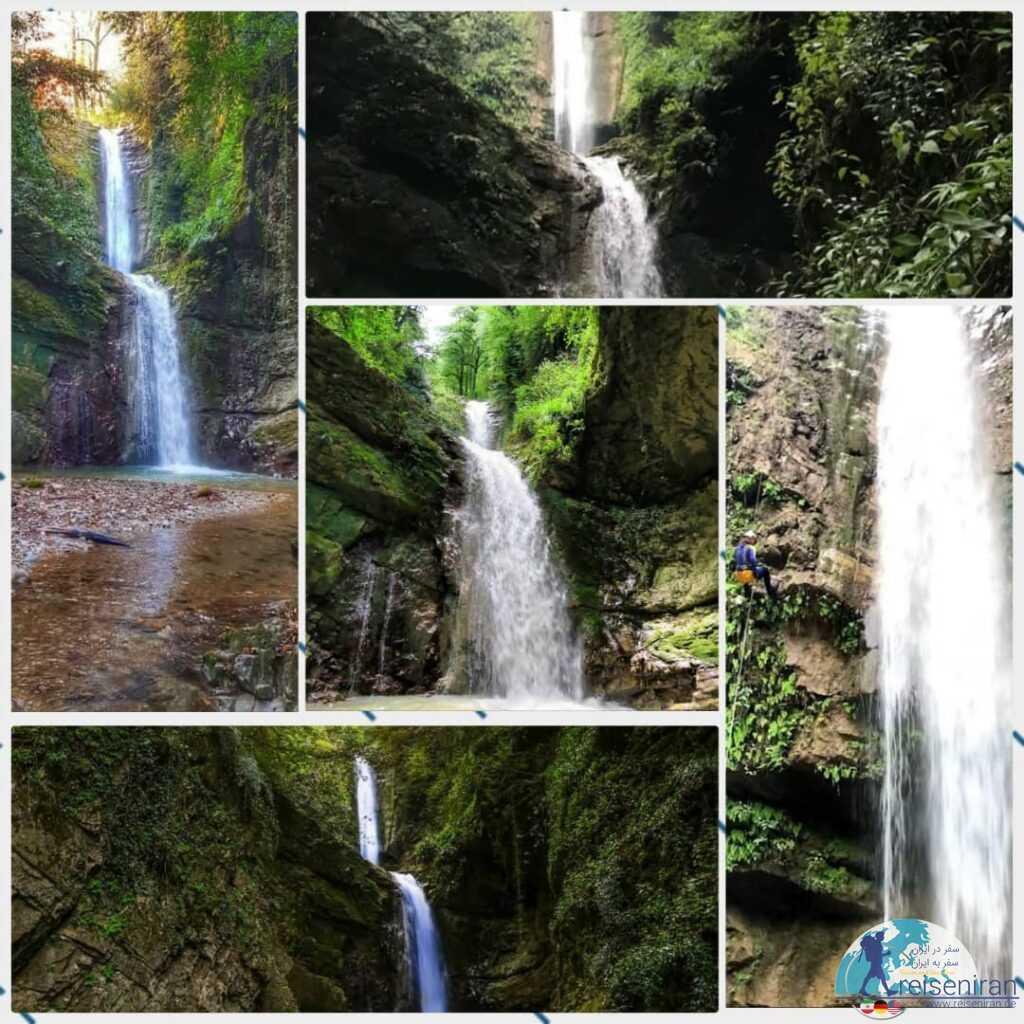آبشار دارنو ولرده نوشهر