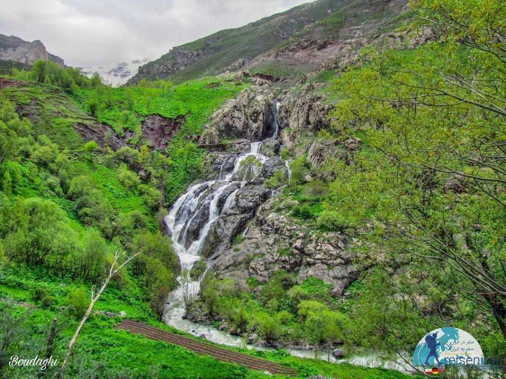 آبشار میج رامسر( ابشار ایج رامسر)