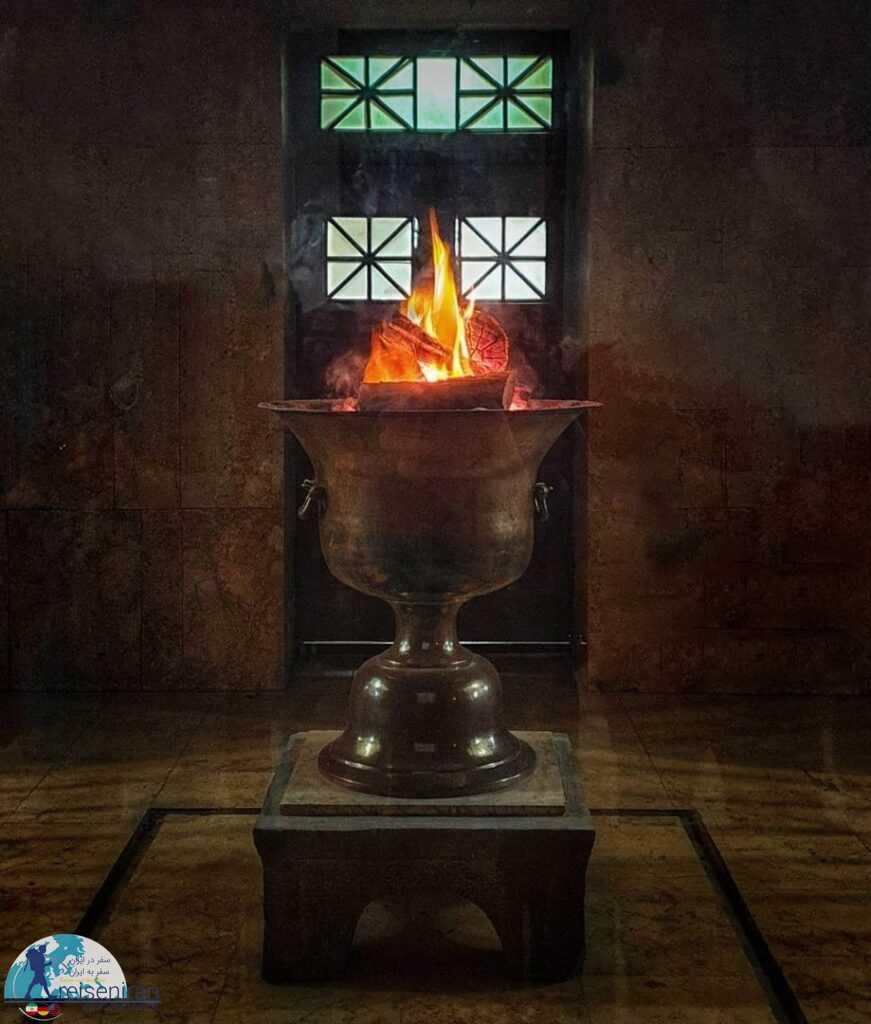 آتش مقدس آتشکده یزد