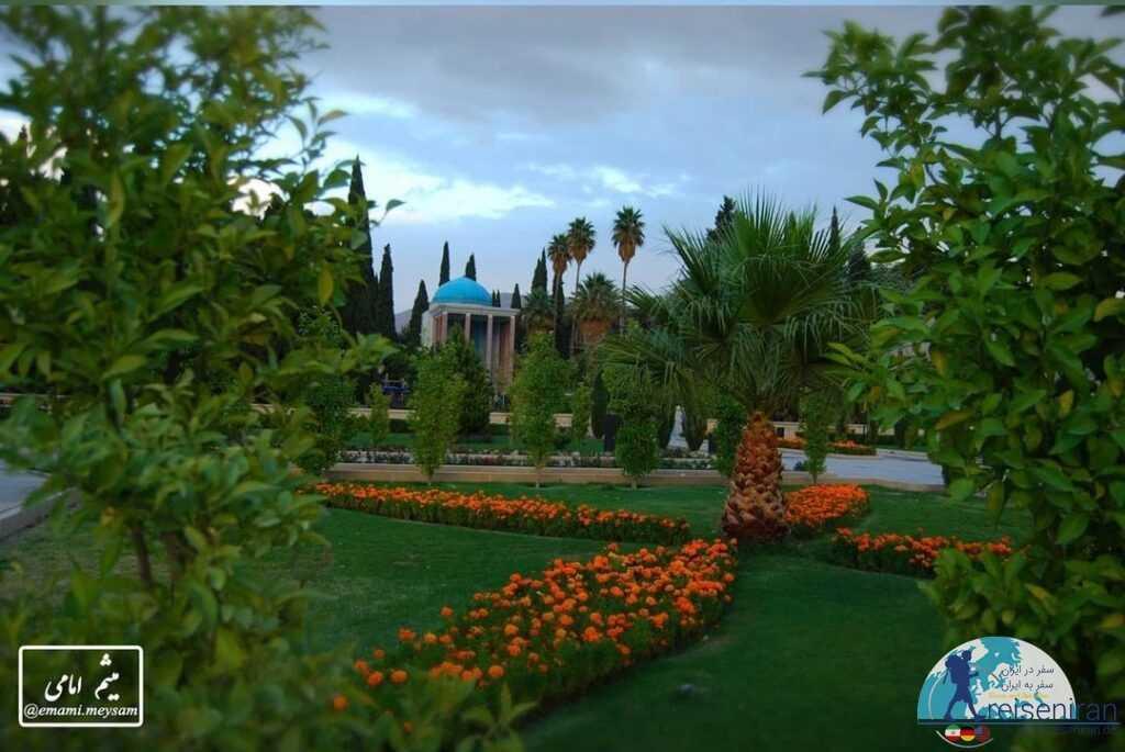 باغ مزار سعدی شیرازی