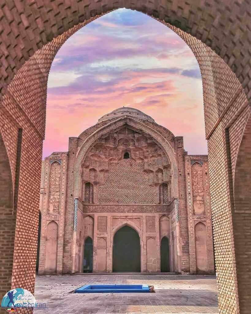 زیبایی مسجد جامع ورامین