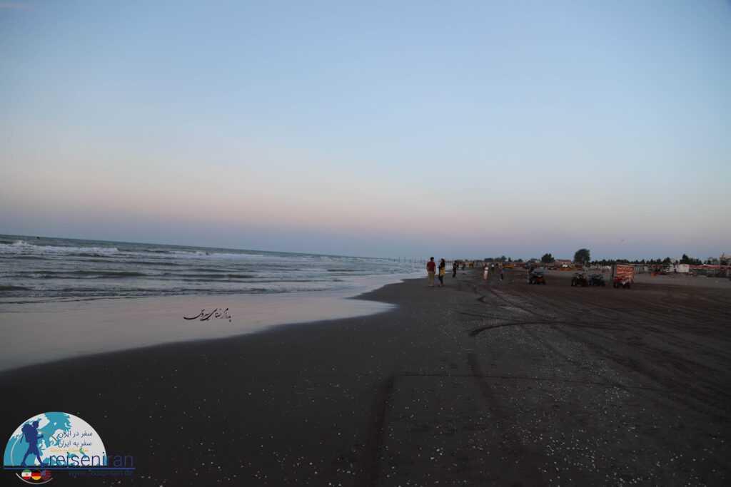 ساحل ماسه ای بندر انزلی