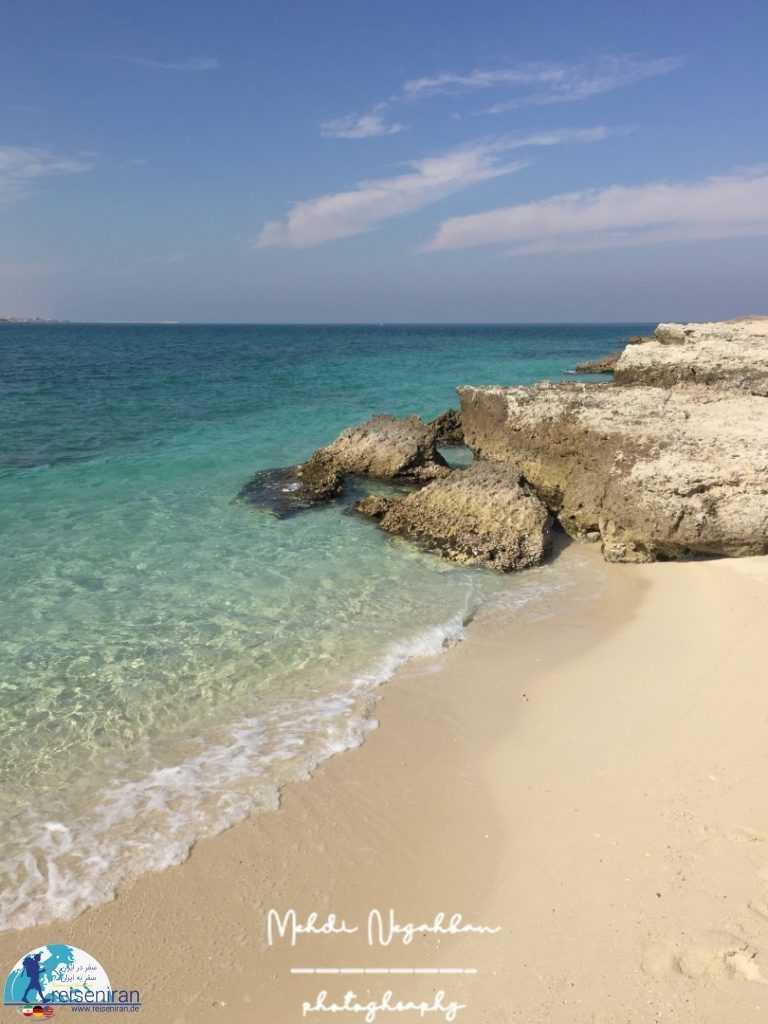 عکس ساحل جزیره مارو
