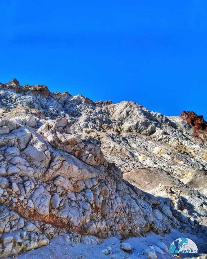 عکس کوه نمکی هرمز