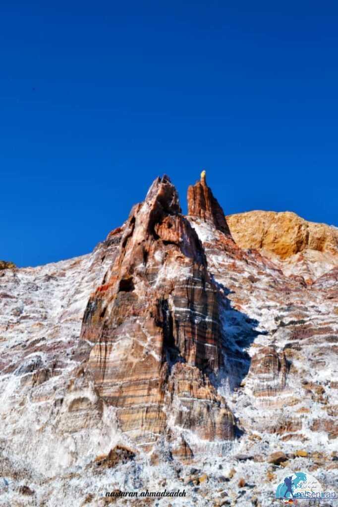 عکس کوه نمک جاشک