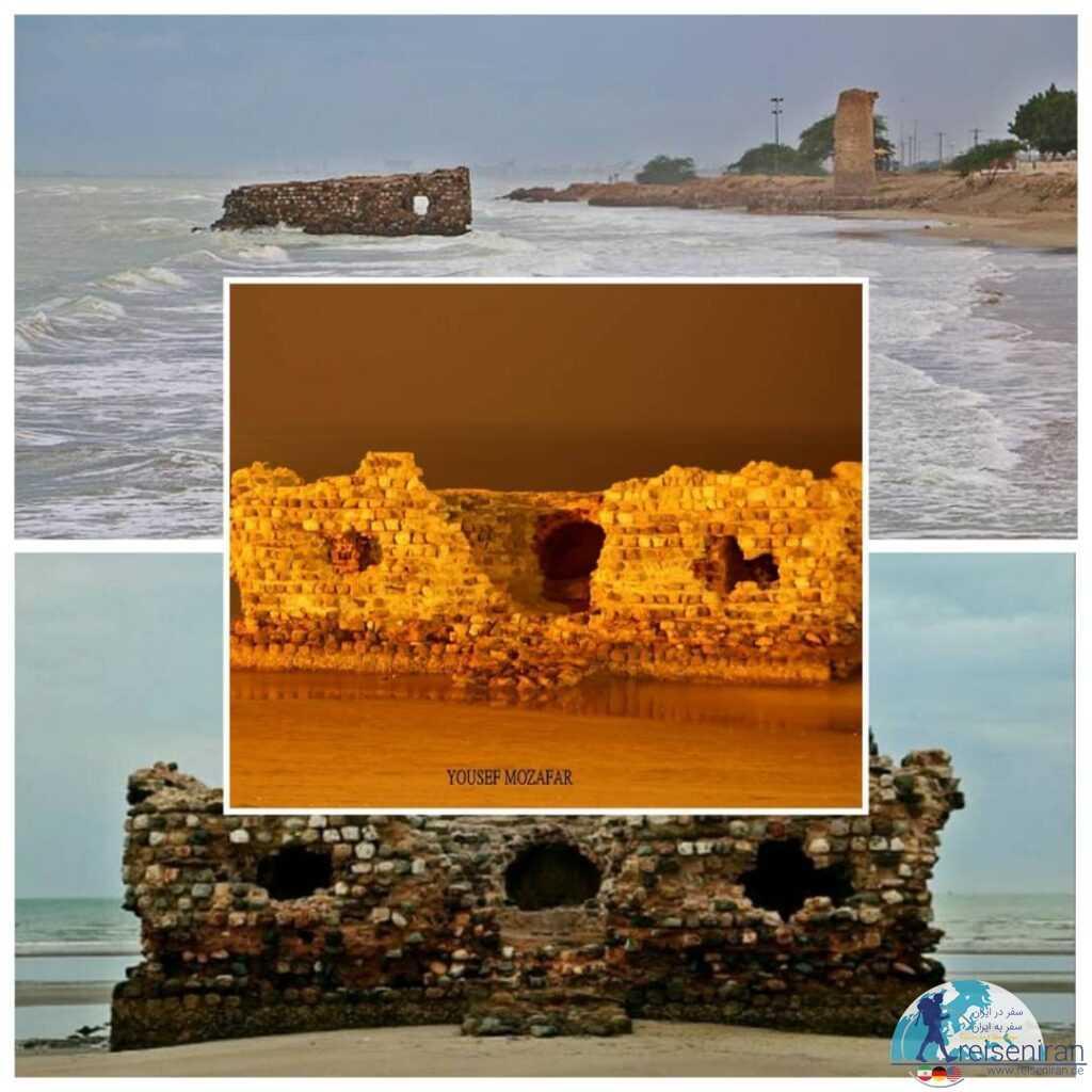 قلعه پرتغالی ها بندر کنگ