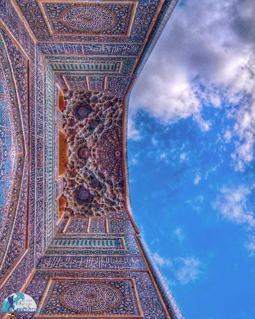 مقرنس زیبای مسجد جامع یزد