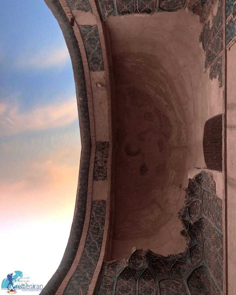 مقرنس مسجد جامع ورامین