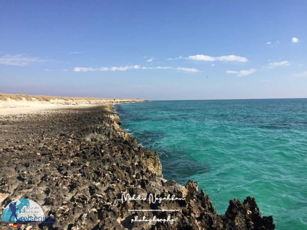 پهنه ساحلی جزیره شیدور