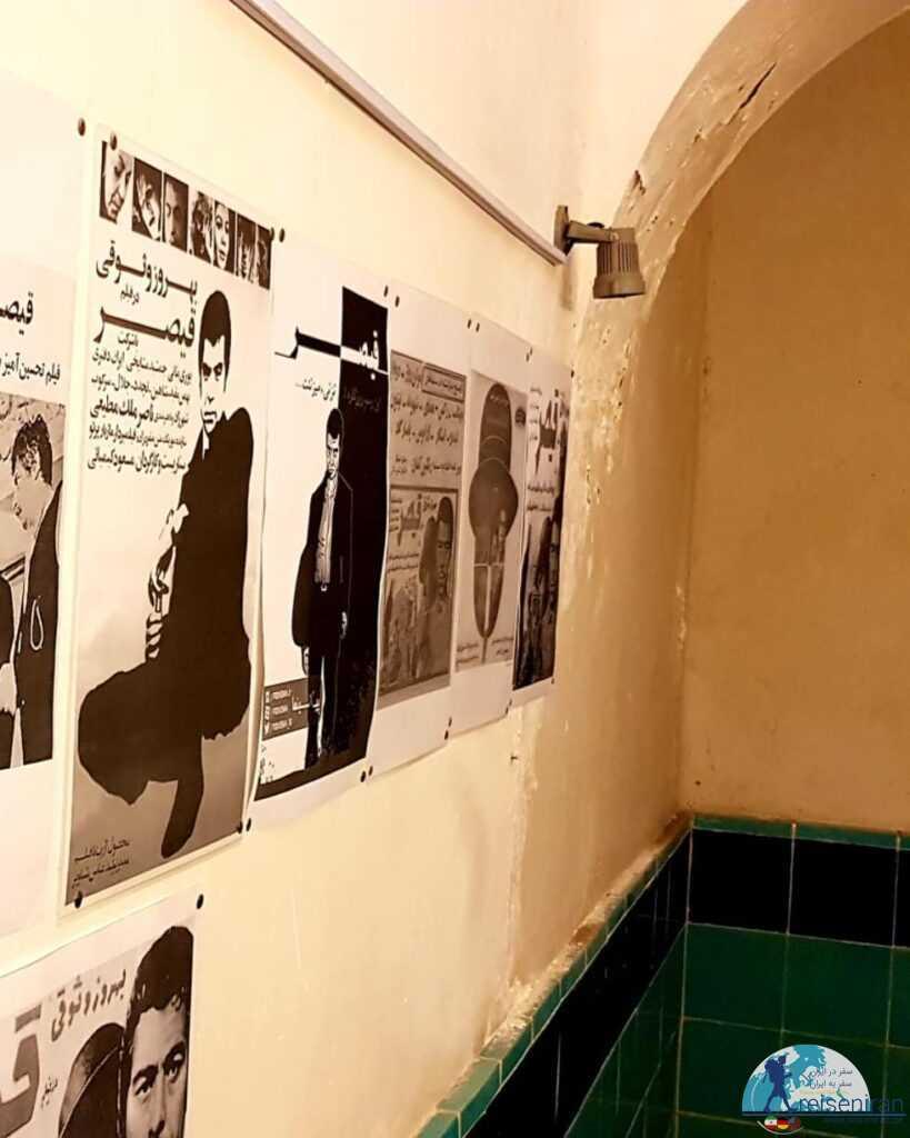 پوسترهای فیلم قیصر در حمام نواب