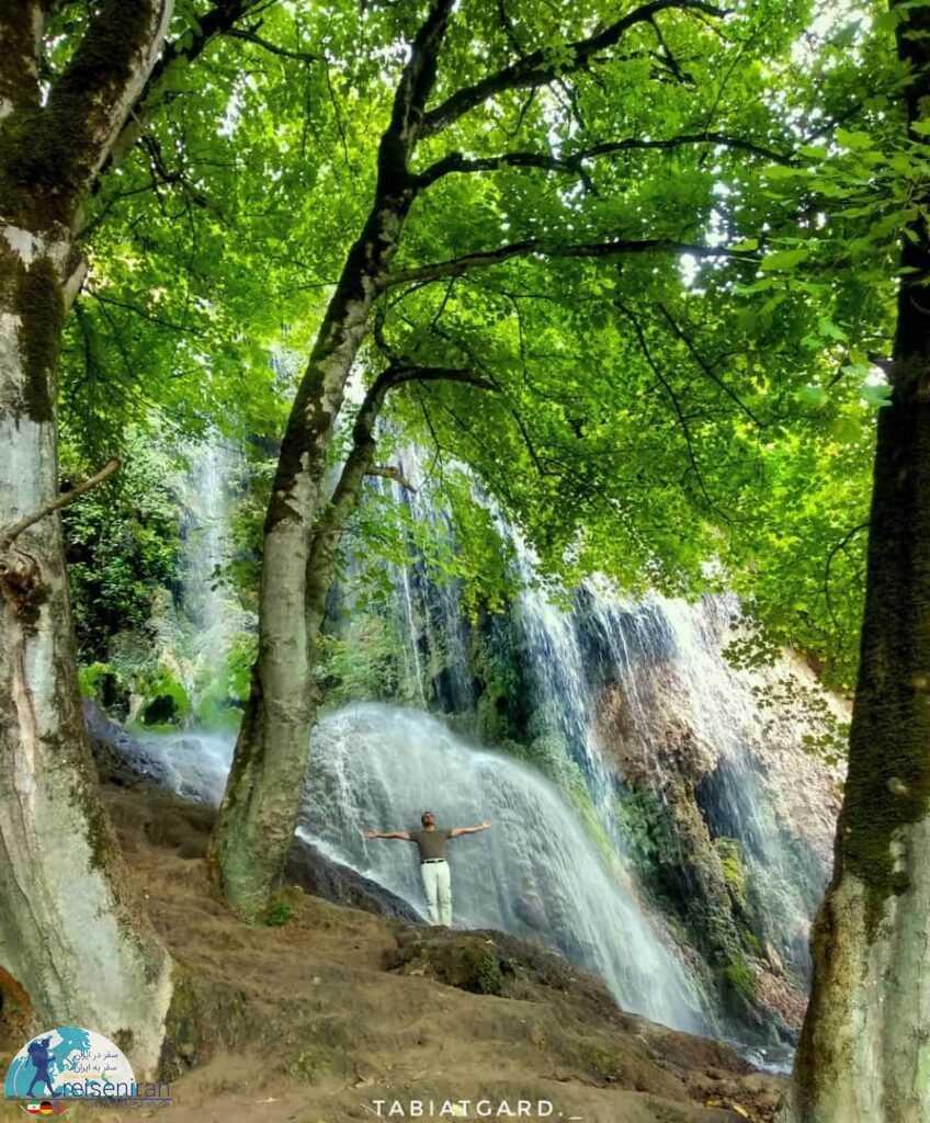 آبشار پیرغار گلستان(ابشار فارسیان گالیکش)