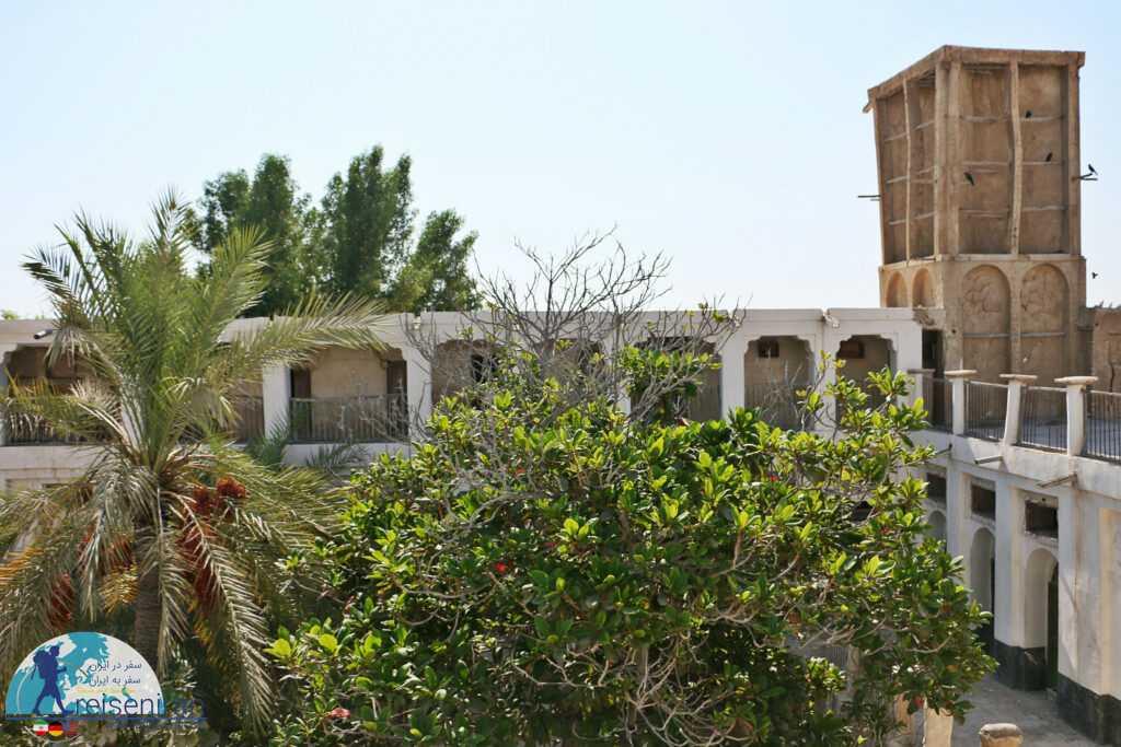 بادگیر خانه فاروق بندر لنگه