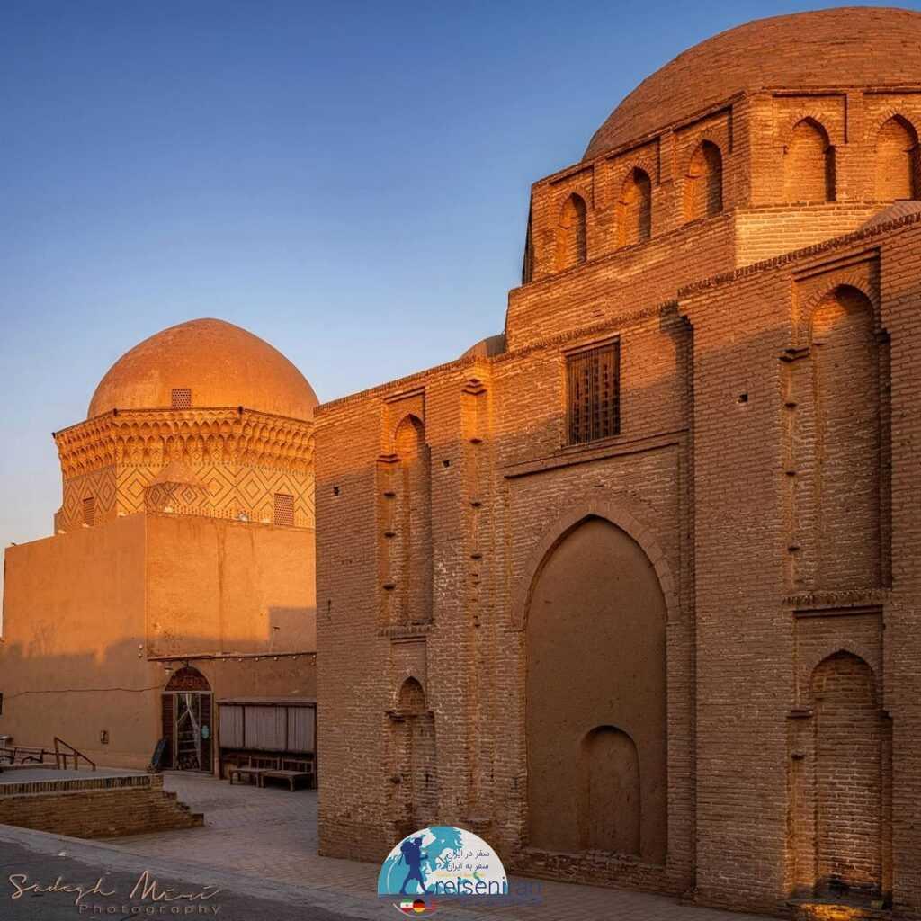 بنای زندان اسکندر یزد