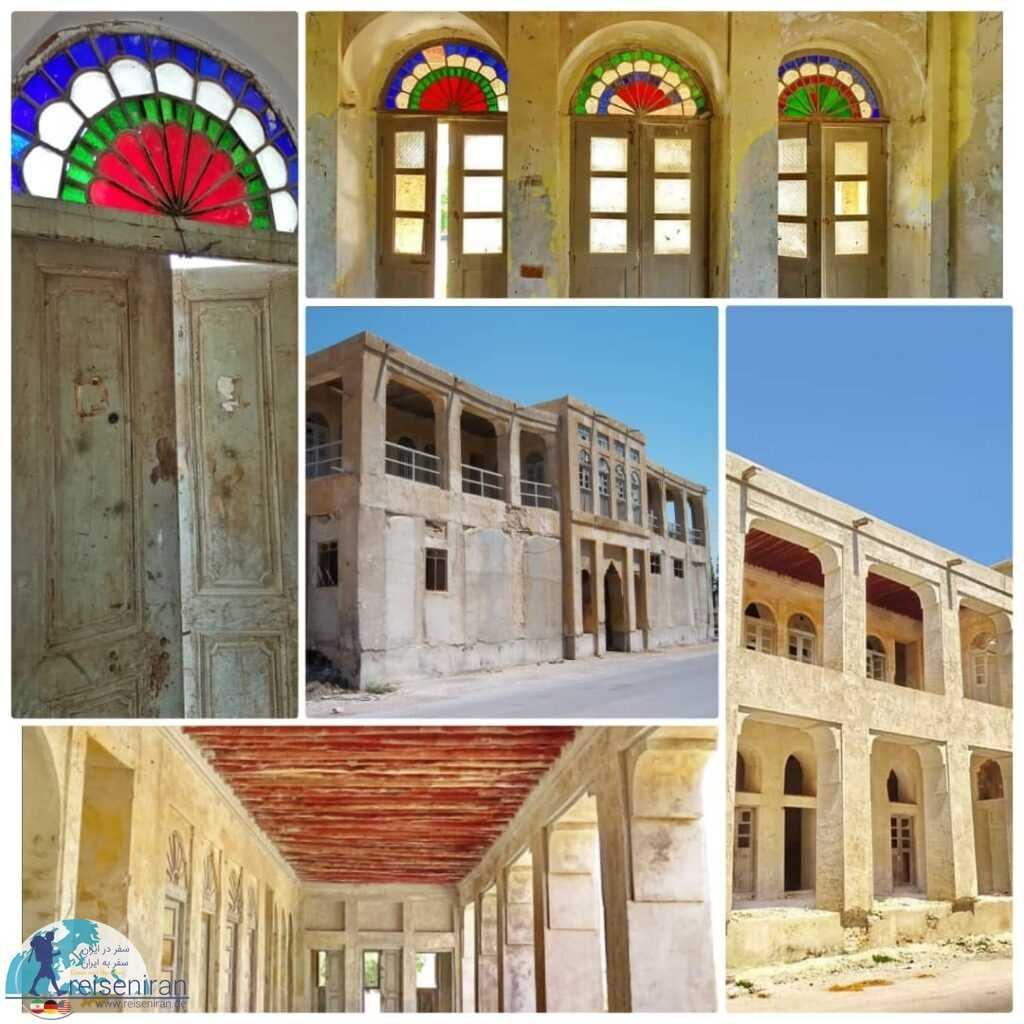 بنای قدیمی شهرداری بندر لنگه