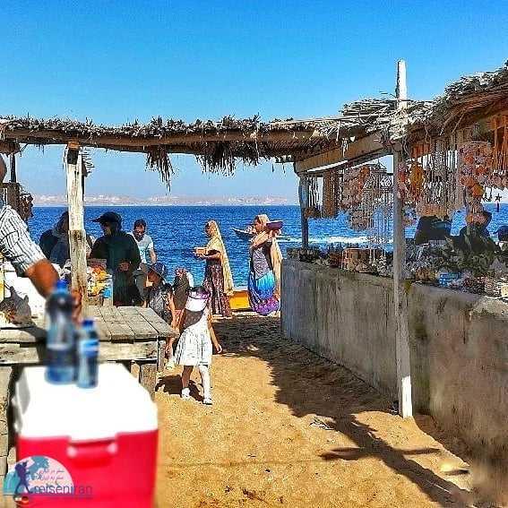 حس و حال بازارچه سنتی جزیره هنگام
