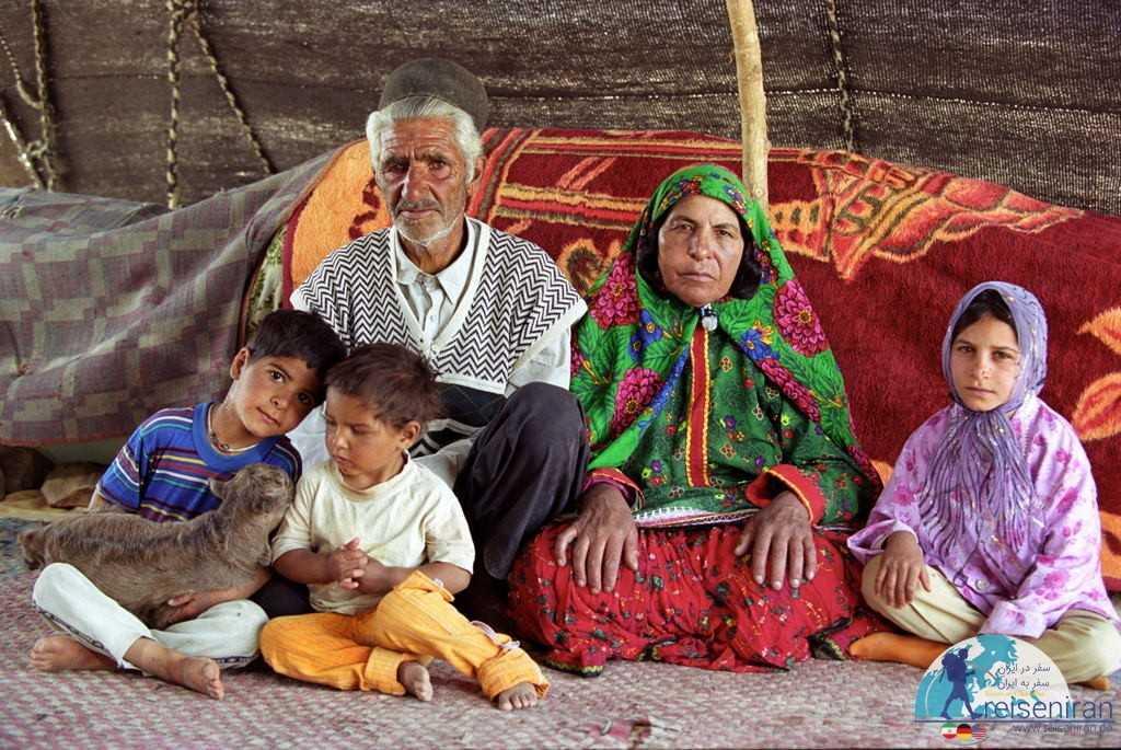 خانواده ای از قوم عرب جرقویه