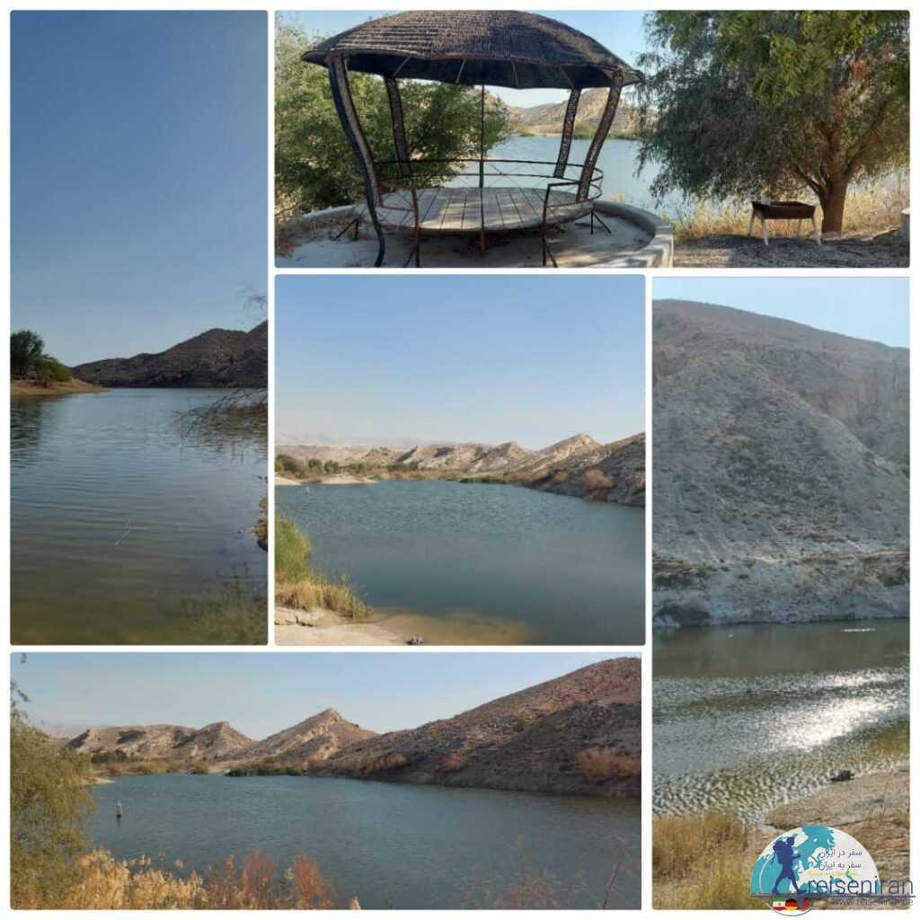دریاچه سد بستانو عسلویه