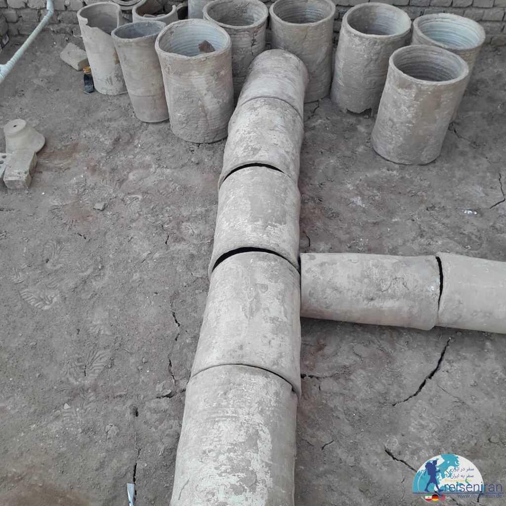 سازه های ساخت قنات