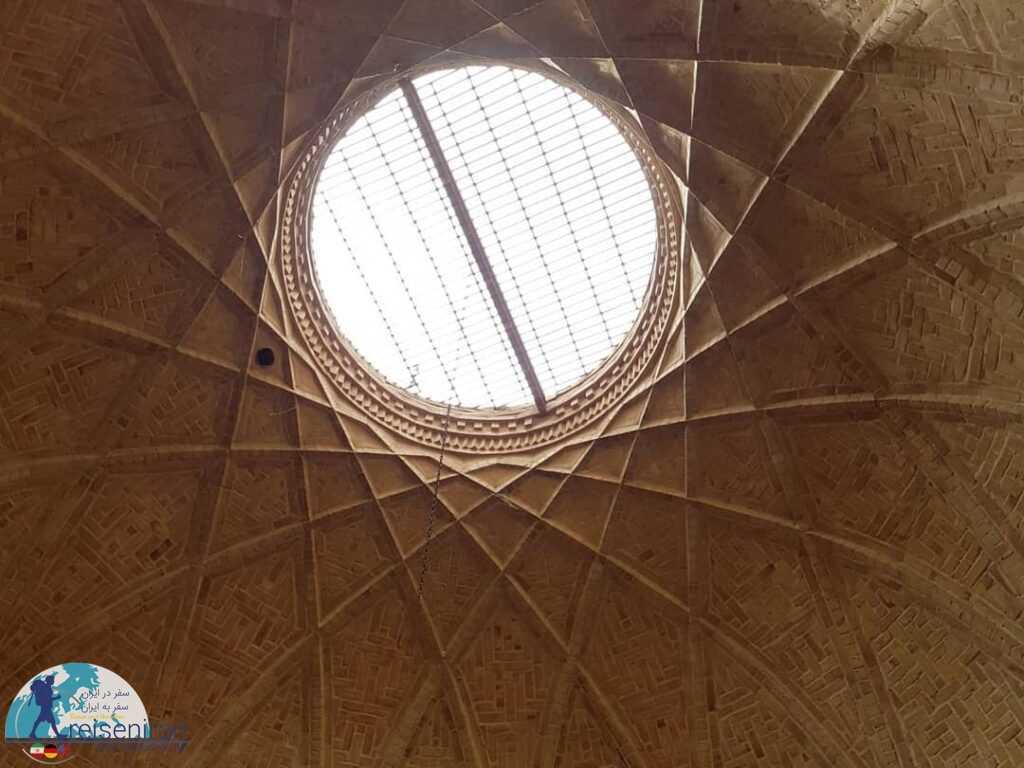 سقف مدرسه ضیائیه
